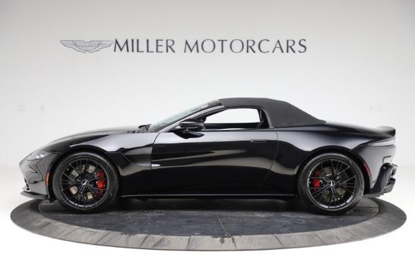 New 2021 Aston Martin Vantage Roadster Convertible for sale $189,186 at Bugatti of Greenwich in Greenwich CT 06830 28