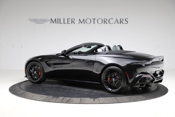 New 2021 Aston Martin Vantage Roadster Convertible for sale $189,186 at Bugatti of Greenwich in Greenwich CT 06830 3