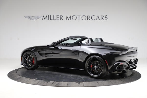 New 2021 Aston Martin Vantage Roadster for sale $189,186 at Bugatti of Greenwich in Greenwich CT 06830 3