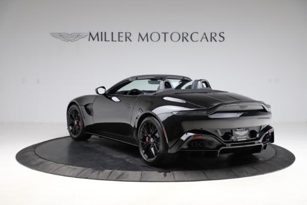 New 2021 Aston Martin Vantage Roadster Convertible for sale $189,186 at Bugatti of Greenwich in Greenwich CT 06830 4