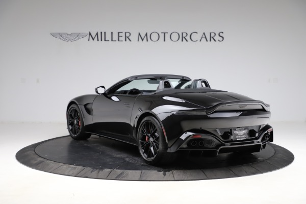 New 2021 Aston Martin Vantage Roadster for sale $189,186 at Bugatti of Greenwich in Greenwich CT 06830 4