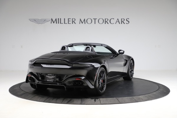 New 2021 Aston Martin Vantage Roadster Convertible for sale $189,186 at Bugatti of Greenwich in Greenwich CT 06830 6