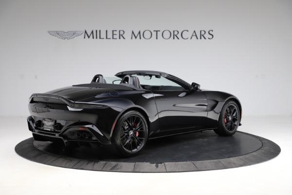 New 2021 Aston Martin Vantage Roadster Convertible for sale $189,186 at Bugatti of Greenwich in Greenwich CT 06830 7