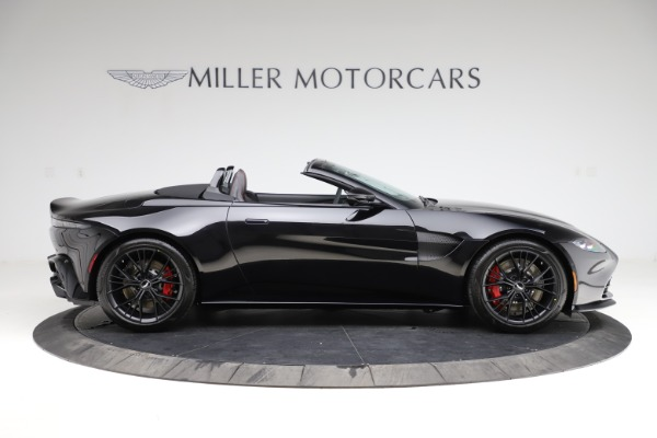 New 2021 Aston Martin Vantage Roadster Convertible for sale $189,186 at Bugatti of Greenwich in Greenwich CT 06830 8