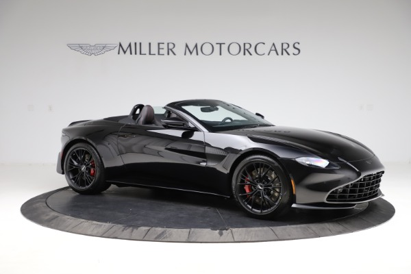 New 2021 Aston Martin Vantage Roadster for sale $189,186 at Bugatti of Greenwich in Greenwich CT 06830 9