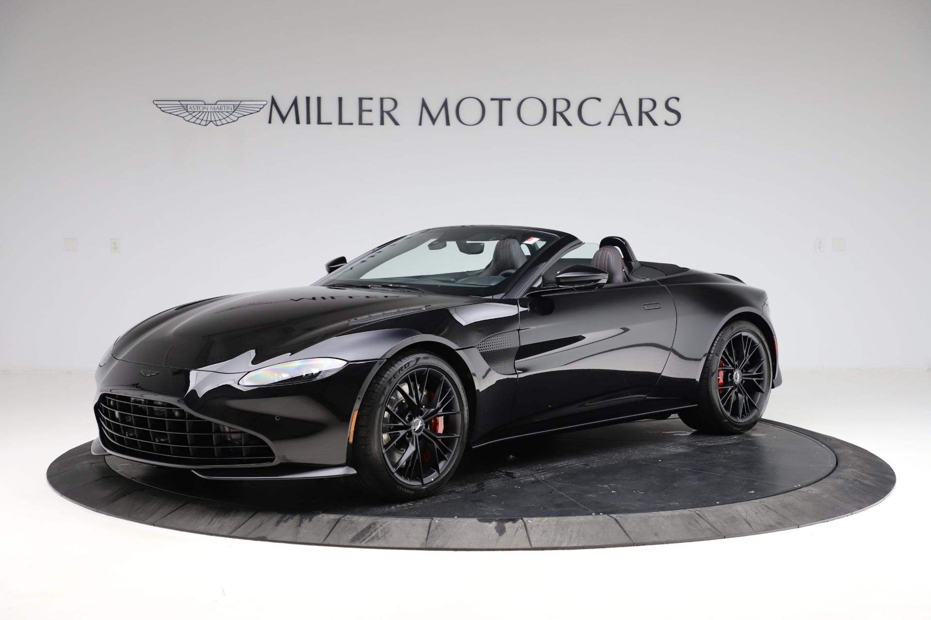 New 2021 Aston Martin Vantage Roadster Convertible for sale $189,186 at Bugatti of Greenwich in Greenwich CT 06830 1