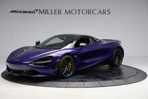 Used 2020 McLaren 720S Spider for sale $324,990 at Bugatti of Greenwich in Greenwich CT 06830 12