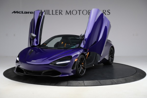 Used 2020 McLaren 720S Spider for sale $324,990 at Bugatti of Greenwich in Greenwich CT 06830 19