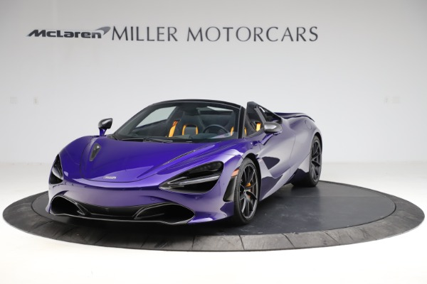 Used 2020 McLaren 720S Spider for sale $324,990 at Bugatti of Greenwich in Greenwich CT 06830 2