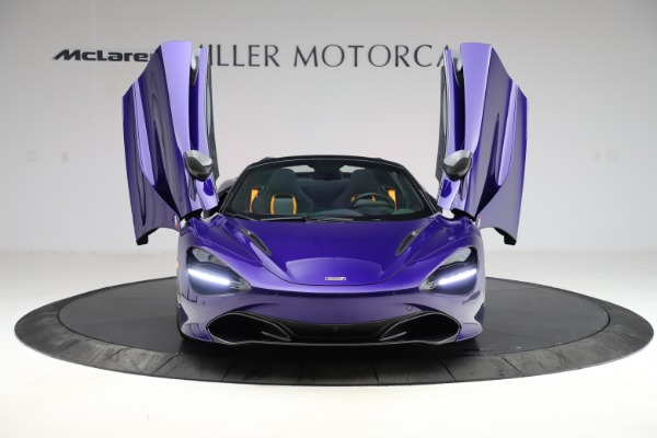 Used 2020 McLaren 720S Spider for sale $324,990 at Bugatti of Greenwich in Greenwich CT 06830 20