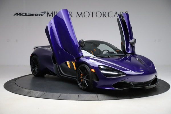 Used 2020 McLaren 720S Spider for sale $324,990 at Bugatti of Greenwich in Greenwich CT 06830 21