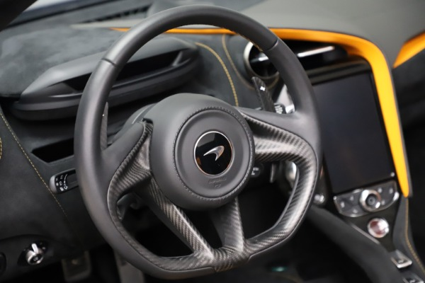 Used 2020 McLaren 720S Spider for sale $324,990 at Bugatti of Greenwich in Greenwich CT 06830 23