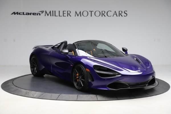 Used 2020 McLaren 720S Spider for sale $324,990 at Bugatti of Greenwich in Greenwich CT 06830 4