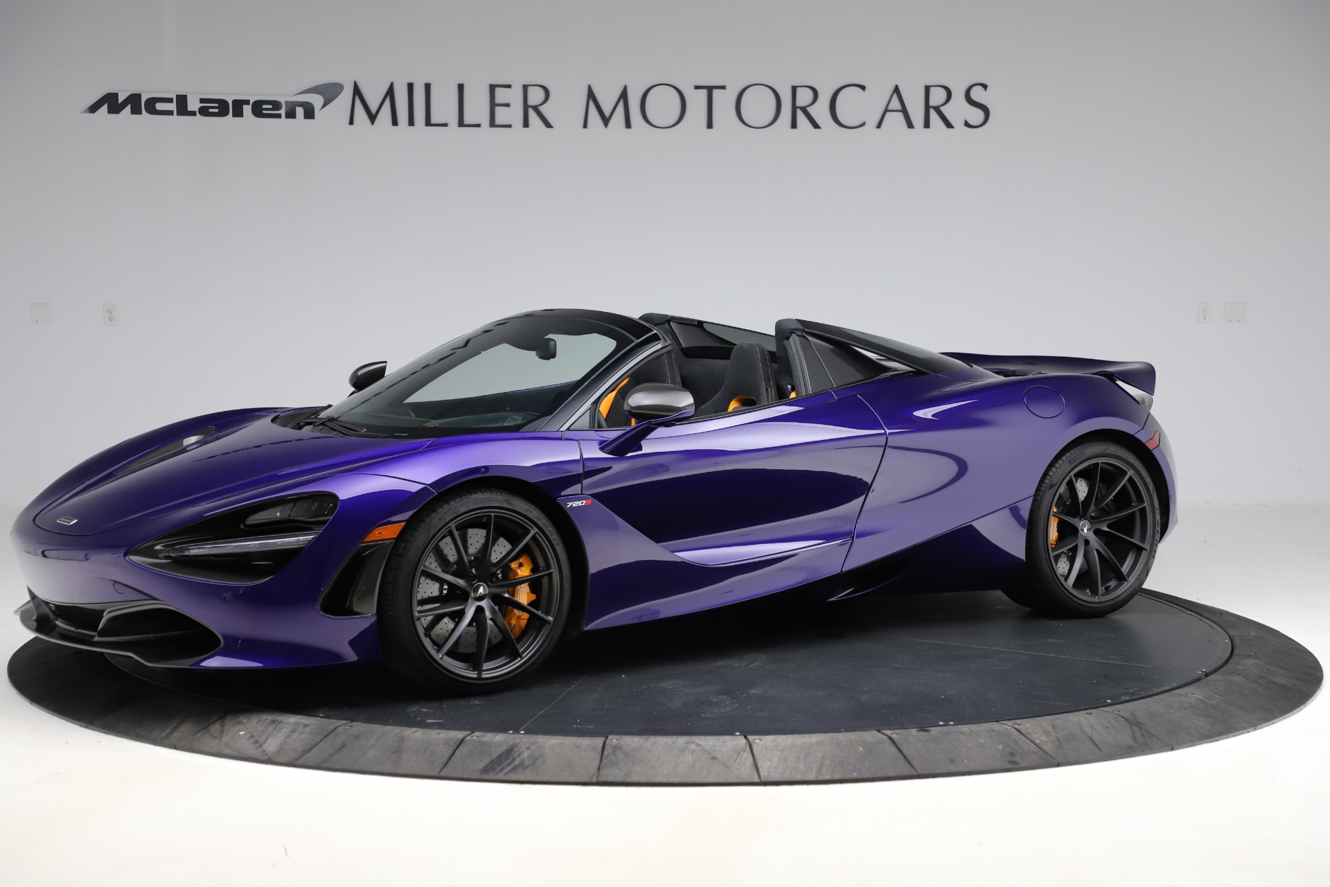 Used 2020 McLaren 720S Spider for sale $324,990 at Bugatti of Greenwich in Greenwich CT 06830 1