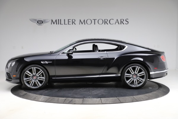 Used 2017 Bentley Continental GT V8 for sale Call for price at Bugatti of Greenwich in Greenwich CT 06830 3