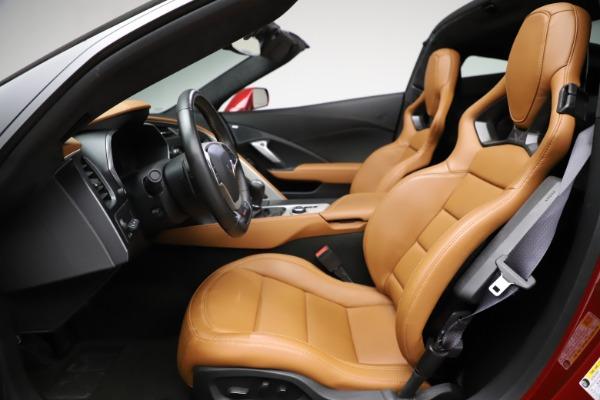 Used 2015 Chevrolet Corvette Z06 for sale $85,900 at Bugatti of Greenwich in Greenwich CT 06830 17