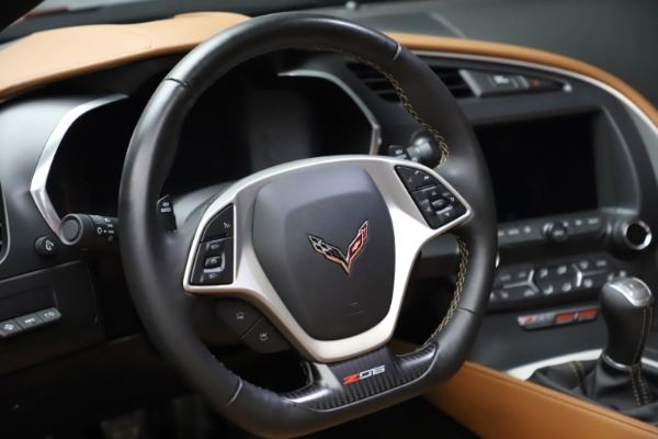 Used 2015 Chevrolet Corvette Z06 for sale $85,900 at Bugatti of Greenwich in Greenwich CT 06830 19