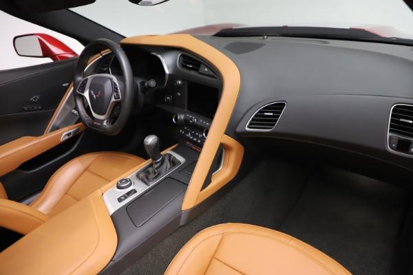 Used 2015 Chevrolet Corvette Z06 for sale $85,900 at Bugatti of Greenwich in Greenwich CT 06830 23