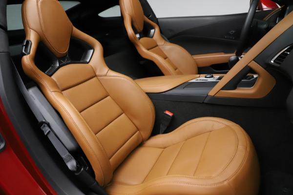 Used 2015 Chevrolet Corvette Z06 for sale $85,900 at Bugatti of Greenwich in Greenwich CT 06830 25
