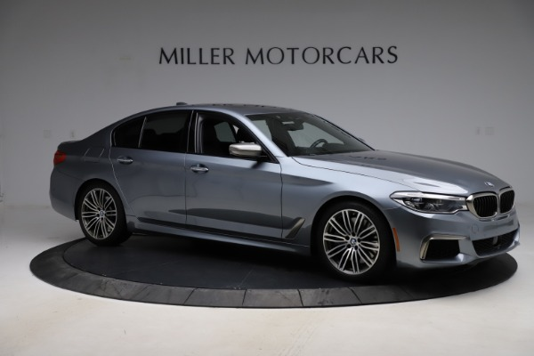 Used 2018 BMW 5 Series M550i xDrive for sale $49,900 at Bugatti of Greenwich in Greenwich CT 06830 10