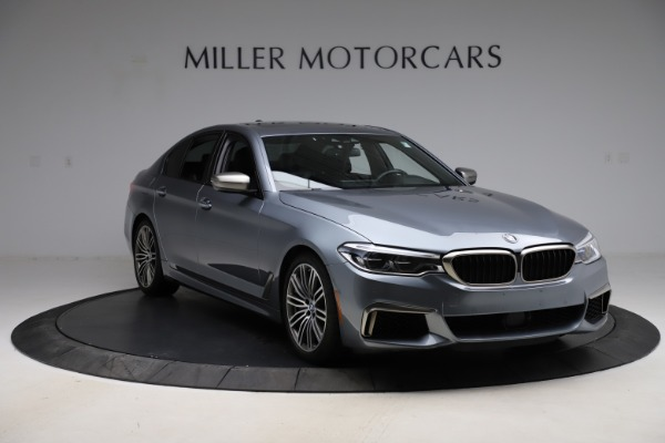 Used 2018 BMW 5 Series M550i xDrive for sale $49,900 at Bugatti of Greenwich in Greenwich CT 06830 11
