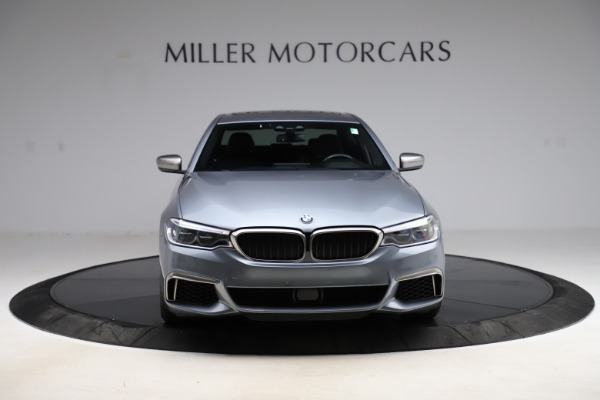 Used 2018 BMW 5 Series M550i xDrive for sale $49,900 at Bugatti of Greenwich in Greenwich CT 06830 12