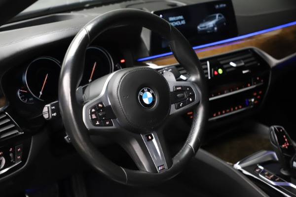 Used 2018 BMW 5 Series M550i xDrive for sale $49,900 at Bugatti of Greenwich in Greenwich CT 06830 16
