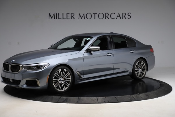 Used 2018 BMW 5 Series M550i xDrive for sale $49,900 at Bugatti of Greenwich in Greenwich CT 06830 2