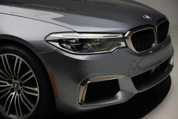 Used 2018 BMW 5 Series M550i xDrive for sale $49,900 at Bugatti of Greenwich in Greenwich CT 06830 28