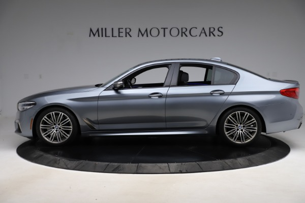 Used 2018 BMW 5 Series M550i xDrive for sale $49,900 at Bugatti of Greenwich in Greenwich CT 06830 3