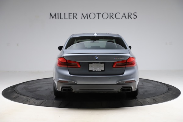 Used 2018 BMW 5 Series M550i xDrive for sale $49,900 at Bugatti of Greenwich in Greenwich CT 06830 6