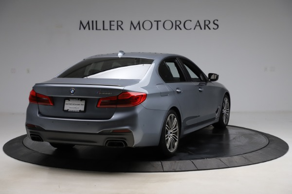 Used 2018 BMW 5 Series M550i xDrive for sale $49,900 at Bugatti of Greenwich in Greenwich CT 06830 7