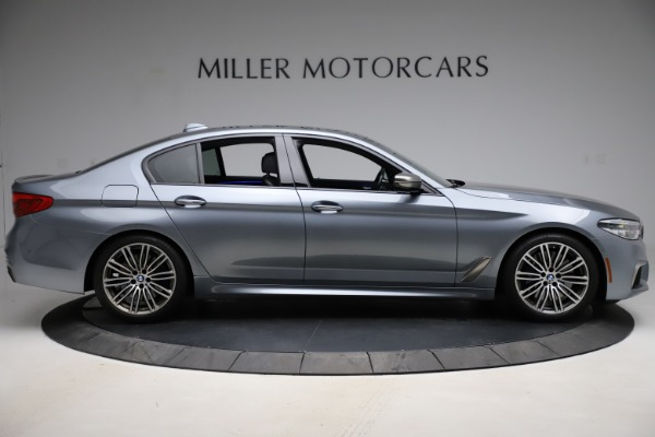 Used 2018 BMW 5 Series M550i xDrive for sale $49,900 at Bugatti of Greenwich in Greenwich CT 06830 9