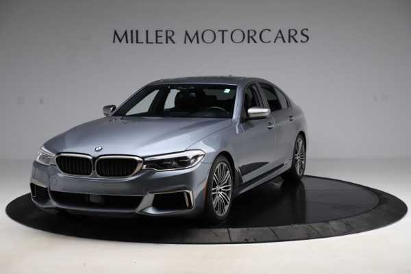 Used 2018 BMW 5 Series M550i xDrive for sale $49,900 at Bugatti of Greenwich in Greenwich CT 06830 1