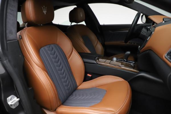 Used 2018 Maserati Ghibli SQ4 GranLusso for sale $51,900 at Bugatti of Greenwich in Greenwich CT 06830 23