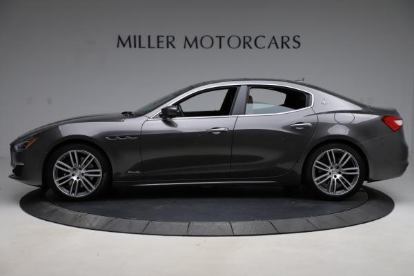 Used 2018 Maserati Ghibli SQ4 GranLusso for sale $51,900 at Bugatti of Greenwich in Greenwich CT 06830 3
