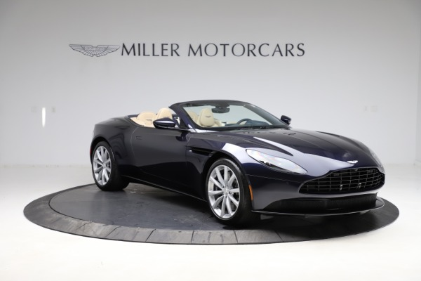 New 2021 Aston Martin DB11 Volante Convertible for sale $274,916 at Bugatti of Greenwich in Greenwich CT 06830 10