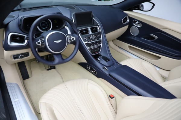 New 2021 Aston Martin DB11 Volante Convertible for sale $274,916 at Bugatti of Greenwich in Greenwich CT 06830 13