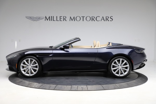 New 2021 Aston Martin DB11 Volante Convertible for sale $274,916 at Bugatti of Greenwich in Greenwich CT 06830 2