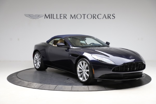 New 2021 Aston Martin DB11 Volante Convertible for sale $274,916 at Bugatti of Greenwich in Greenwich CT 06830 27