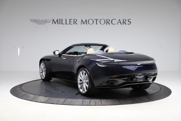 New 2021 Aston Martin DB11 Volante Convertible for sale $274,916 at Bugatti of Greenwich in Greenwich CT 06830 4