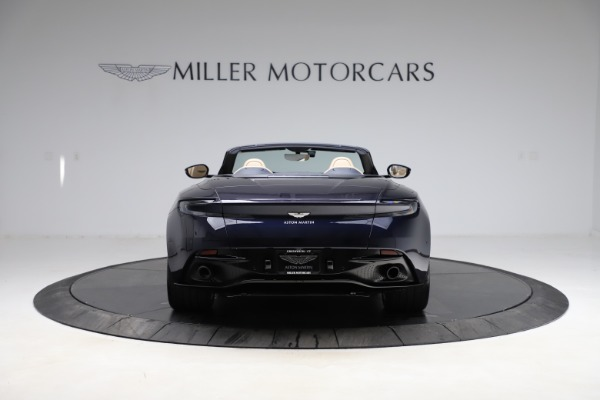 New 2021 Aston Martin DB11 Volante Convertible for sale $274,916 at Bugatti of Greenwich in Greenwich CT 06830 5