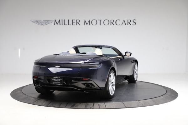 New 2021 Aston Martin DB11 Volante Convertible for sale $274,916 at Bugatti of Greenwich in Greenwich CT 06830 6