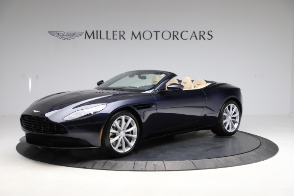 New 2021 Aston Martin DB11 Volante Convertible for sale $274,916 at Bugatti of Greenwich in Greenwich CT 06830 1