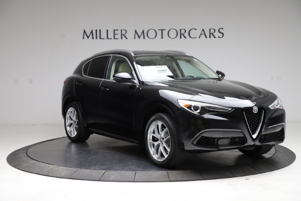 New 2021 Alfa Romeo Stelvio Ti Lusso Q4 for sale $57,750 at Bugatti of Greenwich in Greenwich CT 06830 11