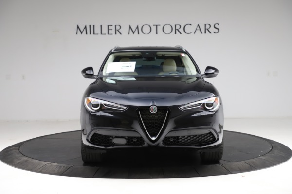 New 2021 Alfa Romeo Stelvio Ti Lusso Q4 for sale $57,750 at Bugatti of Greenwich in Greenwich CT 06830 12