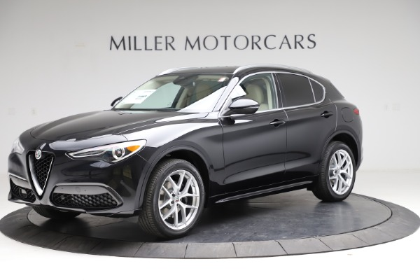 New 2021 Alfa Romeo Stelvio Ti Lusso Q4 for sale $57,750 at Bugatti of Greenwich in Greenwich CT 06830 2