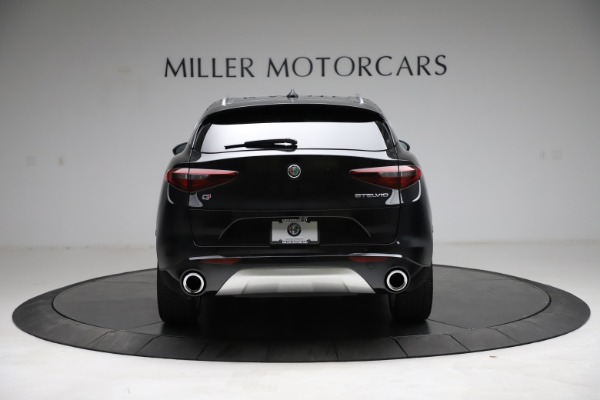 New 2021 Alfa Romeo Stelvio Ti Lusso Q4 for sale $57,750 at Bugatti of Greenwich in Greenwich CT 06830 6