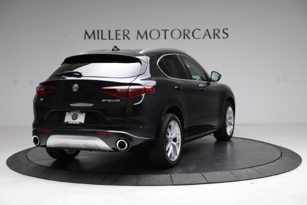 New 2021 Alfa Romeo Stelvio Ti Lusso Q4 for sale $57,750 at Bugatti of Greenwich in Greenwich CT 06830 7
