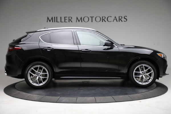 New 2021 Alfa Romeo Stelvio Ti Lusso Q4 for sale $57,750 at Bugatti of Greenwich in Greenwich CT 06830 9